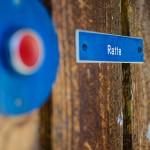 Graviertes Türschild aus Kunststoff